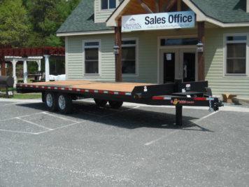 """BWise THD24-15 Tilt Hydraulic Deckover trailer 102"""" x 24' - 15400 GVWR"""