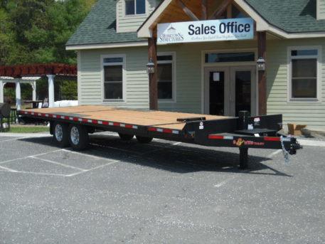 """BWise THD26-15 Tilt Hydraulic Deckover trailer 102"""" x 26' - 15400 GVWR"""