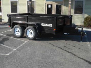 """Bri-Mar DT610LP-LE-10 Dump trailer 72"""" x 12' - 9990 GVWR"""