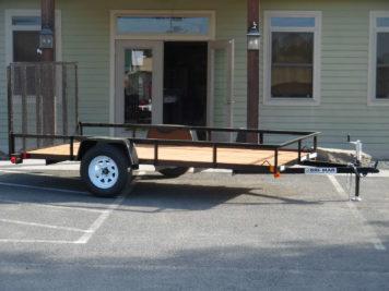 """Bri-Mar UT-612 Utility trailer 72"""" x 12' - 2990 GVWR"""