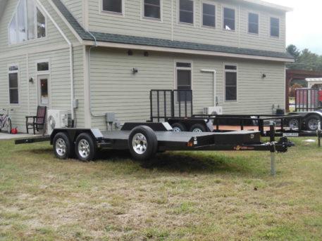BWise CFD20-10, Carhauler (full deck) trailer - 82 x 20' - 9990 GVWR