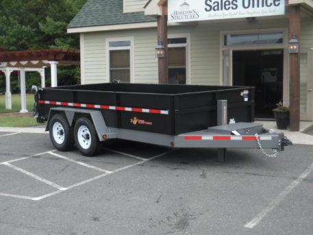 BWise DLP14-15 Dump trailer - 82 x 14 - 15400 GVWR