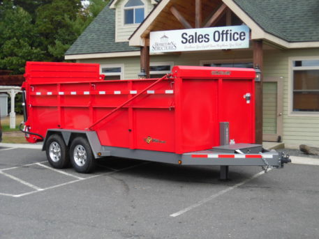BWise DU16-15 Ulitmate Dump trailer - 82 x 16′ – 15400 GVWR