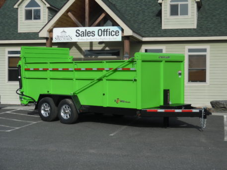 "BWise DU16-15 Ultimate Dump trailer 82"" x 16' - 15400 GVWR"