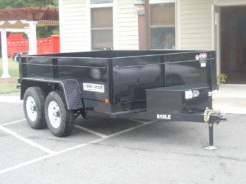 Bri-Mar DT610LE-LE-10 Dump trailer - 72 x 10' - 9990 GVWR