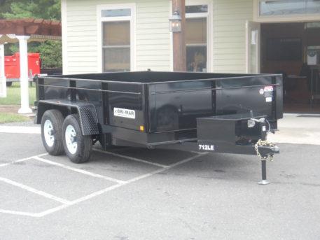 Bri-Mar DT712LP-LE-12 Dump trailer - 81 x 12' - 9900 GVWR