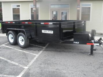 Bri-Mar DT714LP-LE-14, Dump trailer - 81 x 14 - 14000 GVWR