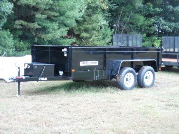 BriMar DT612LP-LE-10 Dump trailer - 72 x 12′ – 9990 GVWR
