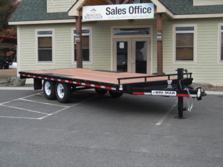 Bri-Mar EH820-14 Equipment trailer 101 x 20' 14000 GVWR