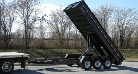BWise DLP18-21 Dump Trailer 21000 GVWR - 82 x 18'