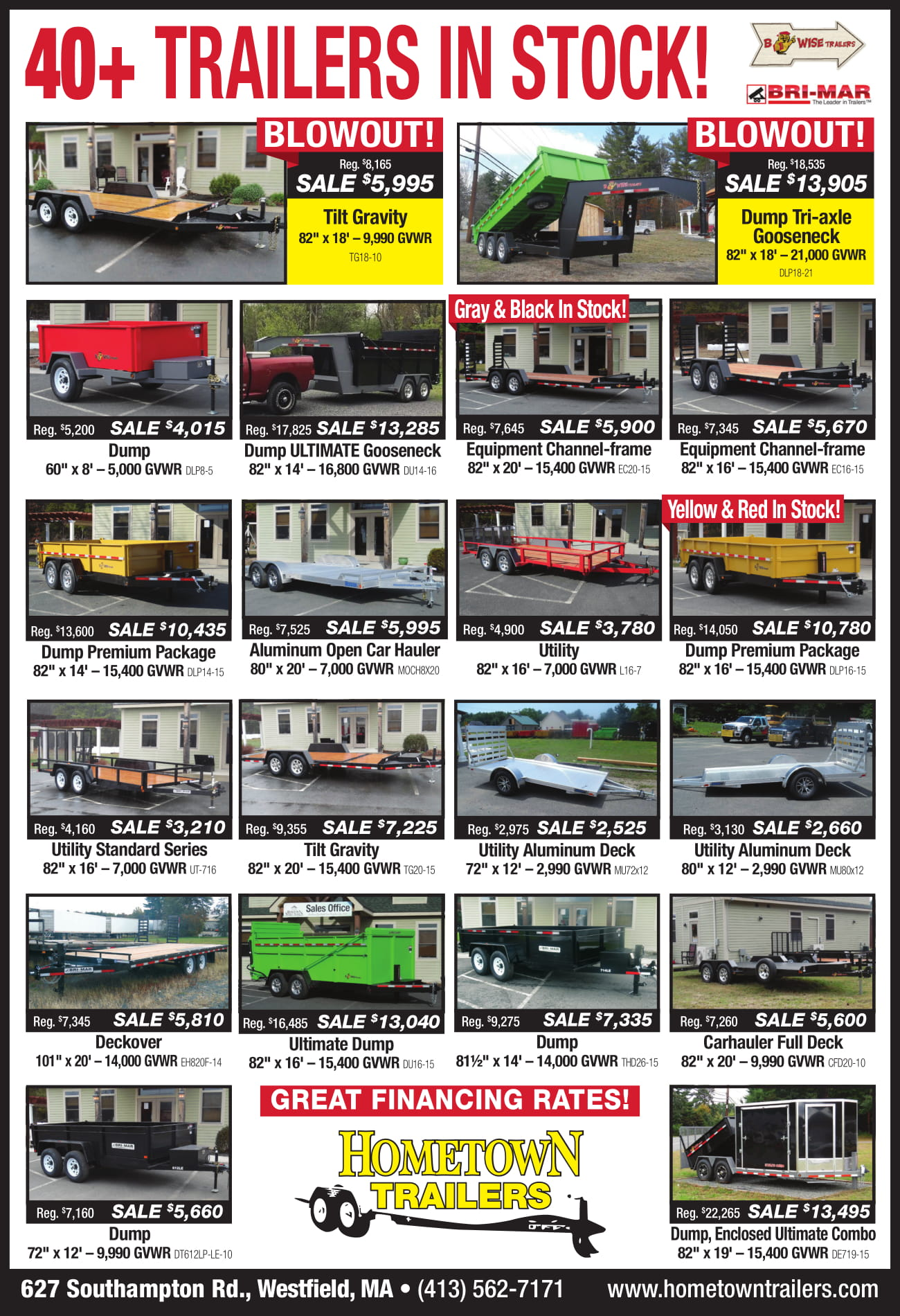 Hometown Trailers ad January 2019