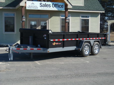 "BWise DLP16-15 Dump trailer 82"" x 16' - 15400 GVWR"