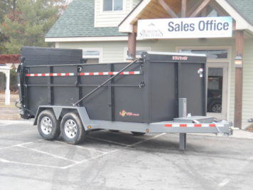 "BWise DU14-15 Ultimate Dump trailer 82"" x 14' - 15400 GVWR"