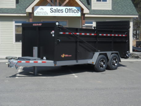 "BWise DU16-15 Ultimate Dump trailer 82"" x 16' - 15400 GVWR"