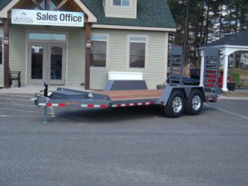 "BWise EC16-15 Equipment trailer 82"" x 16' - 15400 GVWR"