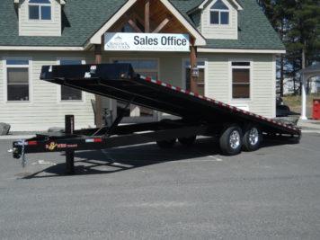 """BWise THD24-15 Tilt trailer 102"""" x 24' - 15400 GVWR"""