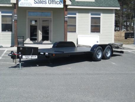 """Bri-Mar CHT20-10 Carhauler trailer full deck hydraulic 82"""" x 20' - 9990 GVWR"""