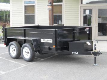Bri-Mar DT610LP-LE-7 Dump trailer 72 x 10' - 7000 GVWR