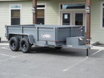 Bri-Mar DT612LP-LE-10 dump trailer 72 x 12' - 9990 GVWR