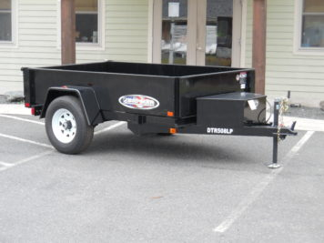 DTR508LP-5 Bri-Mar Dump Lowprofile 5' x 8' trailer - 5000 GVWR