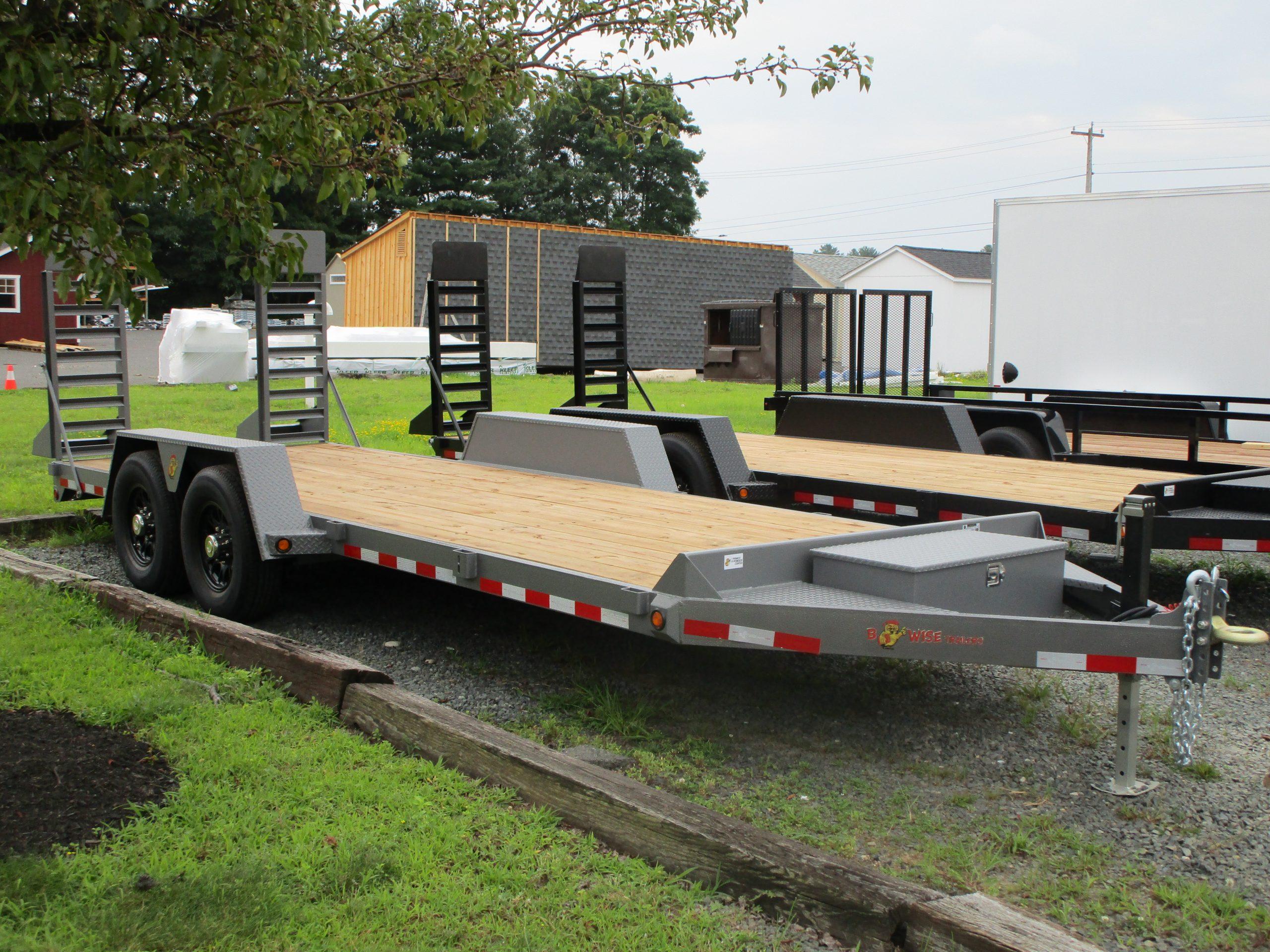 BWise EC20-15 82 x 20' - Equipment trailer 15400 GVWR