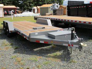 "BWise TG20-15 gravity tilt trailer 82"" x 20' - 15400 GVWR"