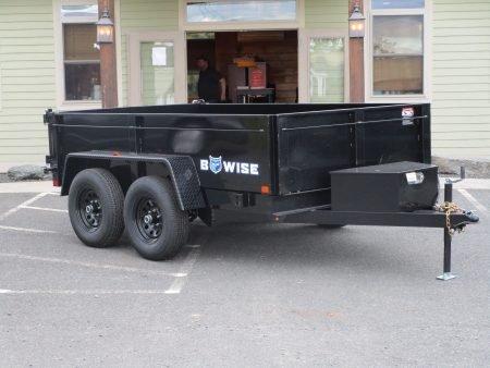 """BWise DT610LP-LE-10 Dump trailer 72"""" x 10' 9990 GVWR"""